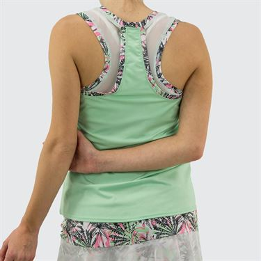 Bolle Tropical Oasis Racerback Tank Womens Mint 8791 29 9450