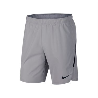 Nike Court Flex Ace 9 Inch Short - Atmosphere Grey/Black