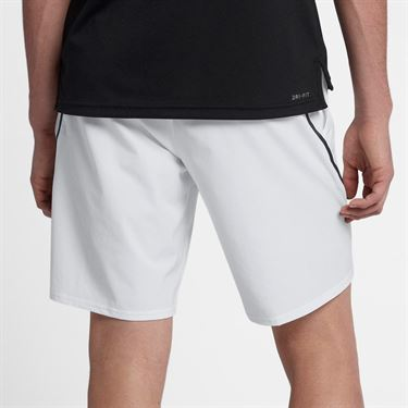 Nike Court Flex Ace 9 Inch Short - White/Black