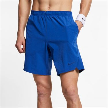 Nike Court Flex Ace 9 in Short - Indigo Force