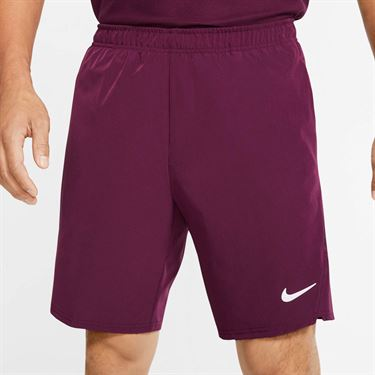 Nike Court Flex Ace Short Mens Bordeaux/White 887515 610