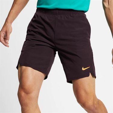 Nike Court Flex Ace Short - Burgundy Ash/Canyon Gold