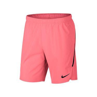 Nike Court Flex Ace 9 Inch Short - Lava Glow/Black