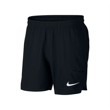 Nike Court Flex Ace 7 Inch Short - Black/White