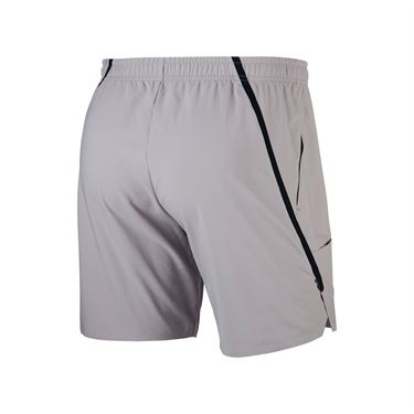 Nike Court Flex Ace 7 Inch Short - Atmosphere Grey/Black