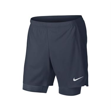 Nike Court Flex Ace Short - Gridiron/White