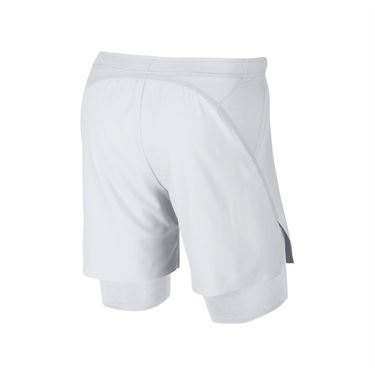 Nike Court Flex Ace Short - White/Gold Leaf