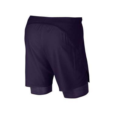 Nike Court Flex Ace Short - Blackened Blue/Orange Peel