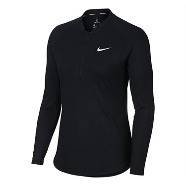 Nike Court Pure Tennis Top - Black