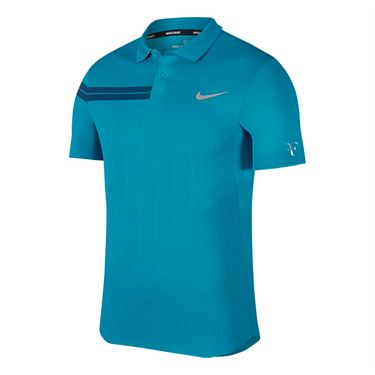 Nike Court Zonal Cooling RF Advantage Polo - Neo Turquoise