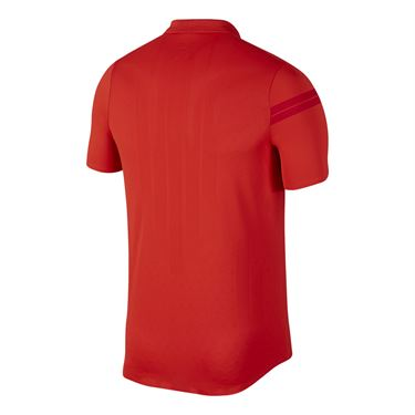 Nike Court Zonal Cooling RF Advantage Polo - Habanero Red