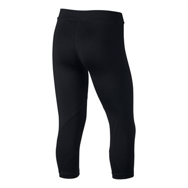 Nike Girls Pro Capri - Black