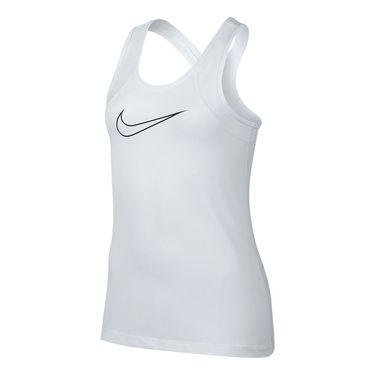 Nike Girls Pro Tank - White