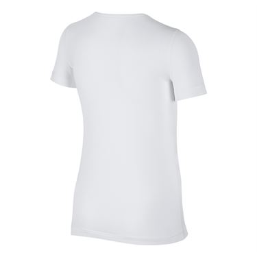 Nike Girls Pro Top - White