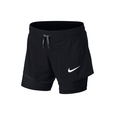 Nike Girls Training Short - Black
