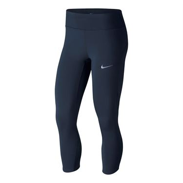Nike Power Epic Lux Running Capri - Obsidian