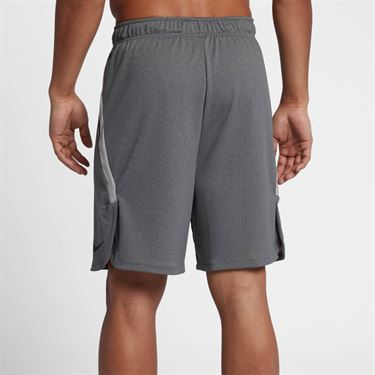 Nike Dry Training Shorts - Gunsmoke Heather/Black