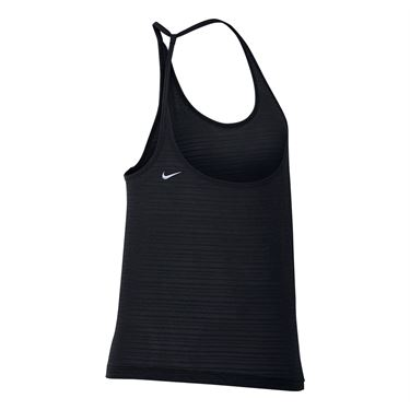 Nike Miler Running Tank - Black/Heather