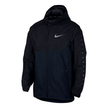 Nike Essential Hooded Running Jacket - Anthracite