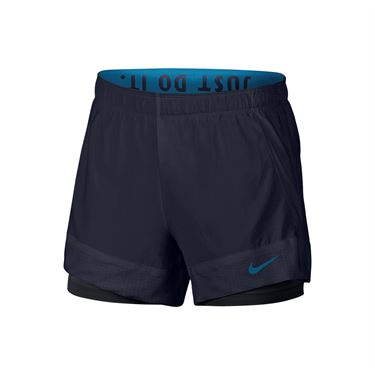 Nike Flex Shorts - Obsidian/Black/Green Abyss