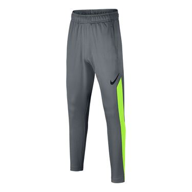 Nike Dry Boys Training Pant - Cool Grey/Volt/Black