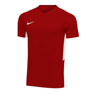 Nike Dry Tiempo Premier Short Sleeve Jersey - Team Maroon/White