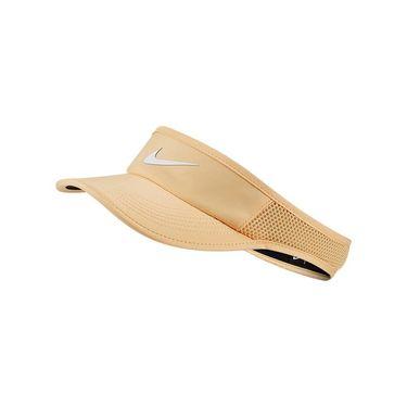 Nike Womens Court Aerobill Visor - Celestial Gold/White