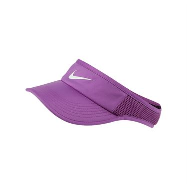 Nike Womens Court Aerobill Visor - Purple Nebula