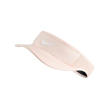 Nike Womens Court Aerobill Visor - Washed Coral
