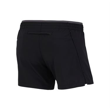 Nike Elevate 5 Inch Running Short - Black/Gunsmoke