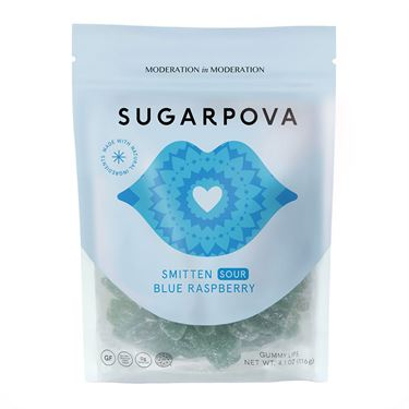 Sugarpova Smitten Sour Rainbow Stripes Candy
