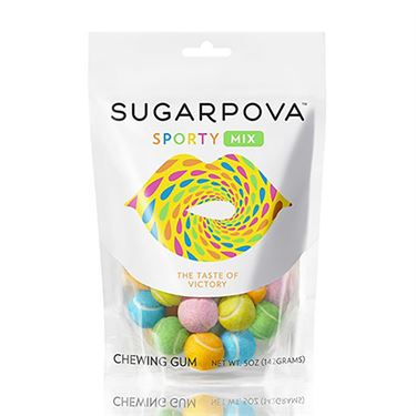 Sugarpova Sporty Mix Colored Tennis Ball Gum