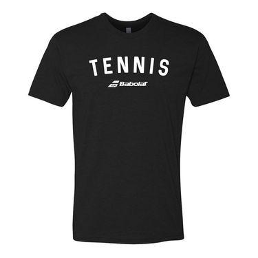 Babolat Tennis Logo Tee Mens Black 911100 U08