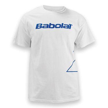 Babolat Logo Outlined Short Sleeve Shirt