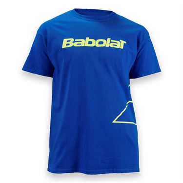 Babolat Logo Outlined Short Sleeve Shirt
