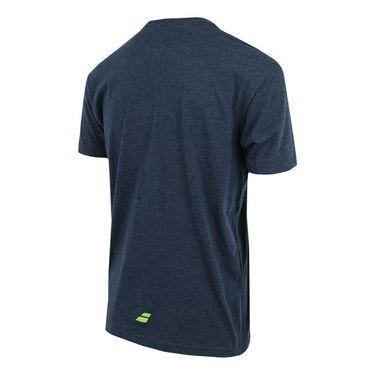 Babolat Tennis Logo Tee - Midnight Navy