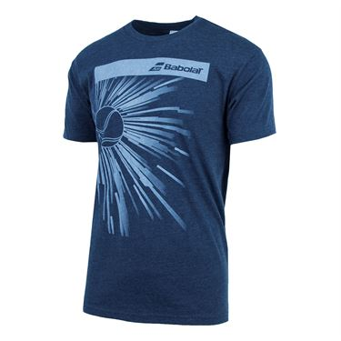 Babolat Shatter Tee - Midnight Navy