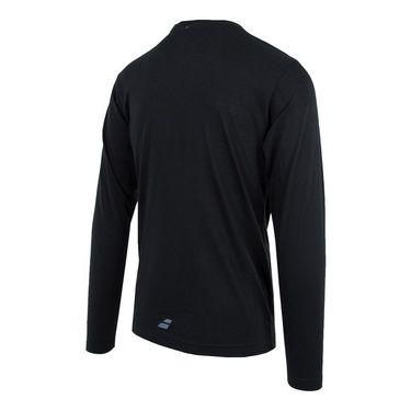 Babolat Long Sleeve Logo Tee - Black