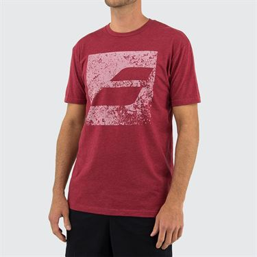 Babolat Box Logo Tee Mens Cardinal Red 911091 U11