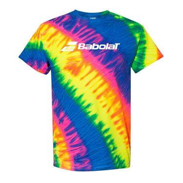 Babolat Tie Dye Logo Tee Mens Tie Dye 911105 U13