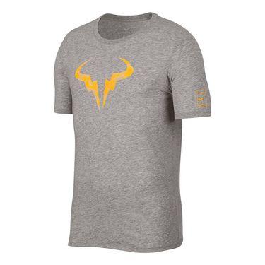 Nike Mens T-Shirt - Nike Nike Court Dry Rafa Rafa Dark Grey Heather V31j6618