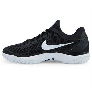 Nike Zoom Cage 3 Mens Tennis Shoe - Black/White/Anthracite