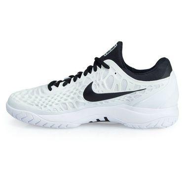 Nike Zoom Cage 3 Mens Tennis Shoe - White/Black