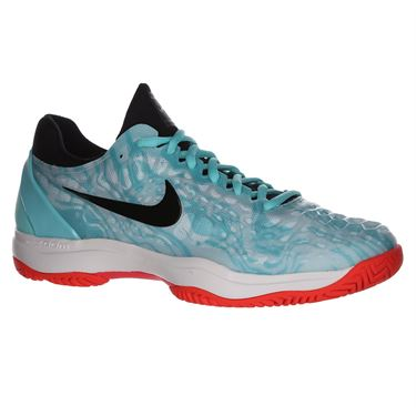 Nike Zoom Cage 3 Mens Tennis Shoe - Aurora Green/Black/Teal Tint/Phantom