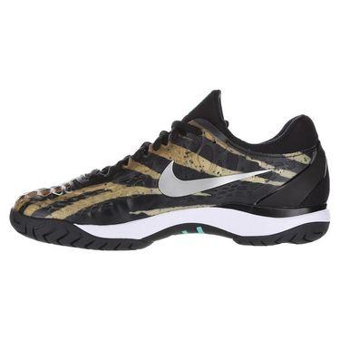 Nike Air Zoom Cage 3 Mens Tennis Shoe - Wheat/Metallic Silver/Hyper Jade