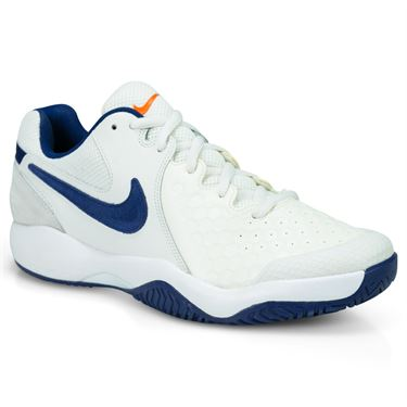 Nike Air Zoom Resistance Mens Tennis Shoe - Phantom Blue/Void Sail/Orange Blaze