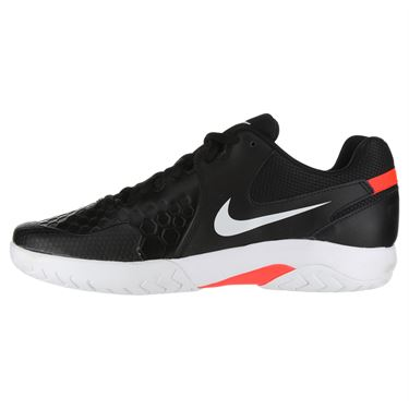 Nike Air Zoom Resistance Mens Tennis Shoe - Black/White/Bright Crimson