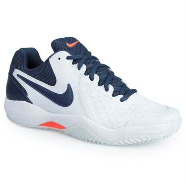 Nike Air Zoom Resistance men tennis shoes NEW white thunder blue 918194-148