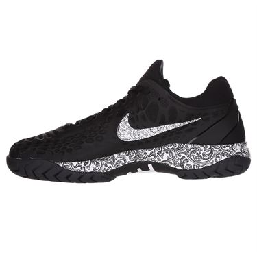 Nike Zoom Cage 3 Womens Tennis Shoe - Black/White