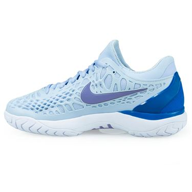 21ceedaa0a8c ... Nike Zoom Cage 3 Womens Tennis Shoe - Royal Tint Monarch  Purple Military Blue